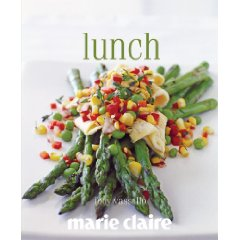 lunch  by jody vallallo and perhaps underwritten by marie claire, who's name is written under the author's?